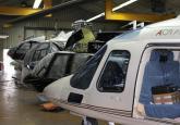 Hubschrauber Servicestation